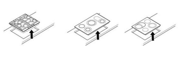 Заводская табличка на варочных поверхностях Bosch